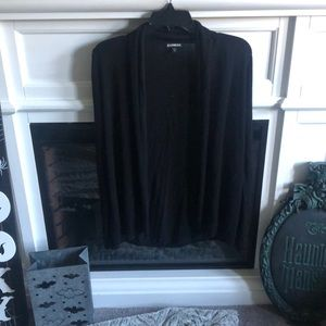 Express Black Basic Cardigan XS